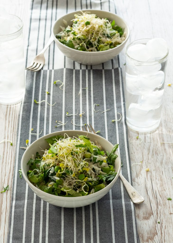 Herby Pea & Rice Salad