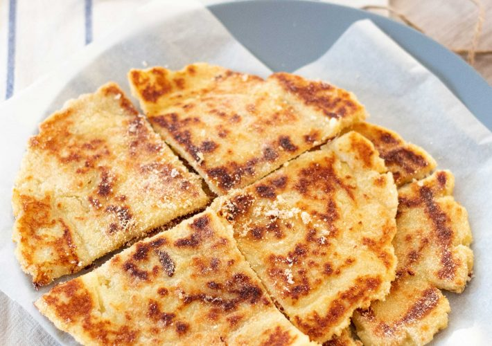 Vegan & gluten-free Irish potato farls