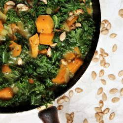 Winter Squash and Kale Curry