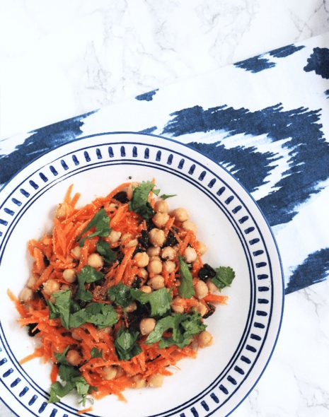 5-Minute Carrot & Raisin Salad