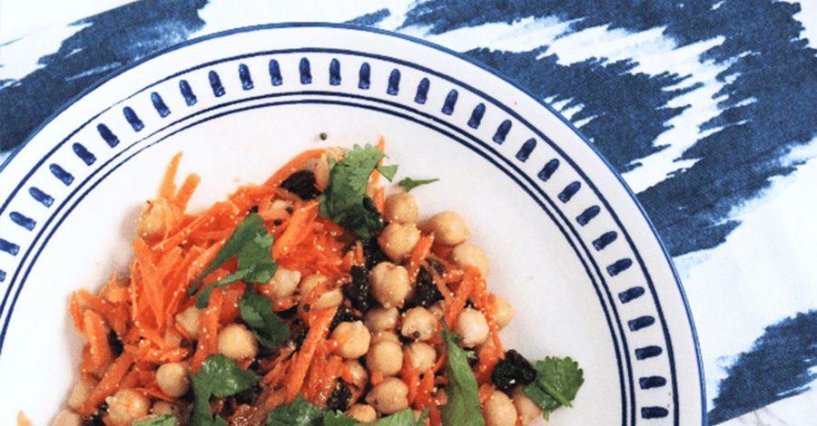 5-Minute Carrot & Raisin Salad
