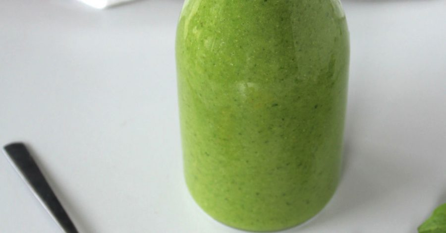 simple recipe for green smoothie