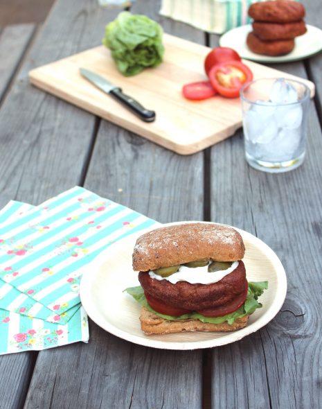 Vegan & Gluten Free Burgers