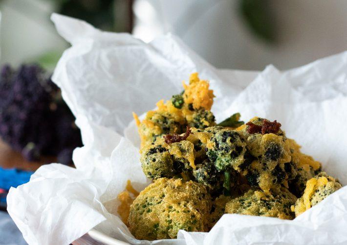 Vegan & gluten-free tempura with broccoli