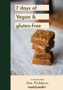 7-day vegan & gluten-free meal plan
