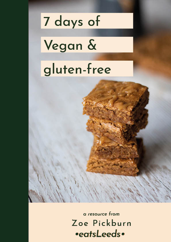 7-day vegan & gluten-free meal plan
