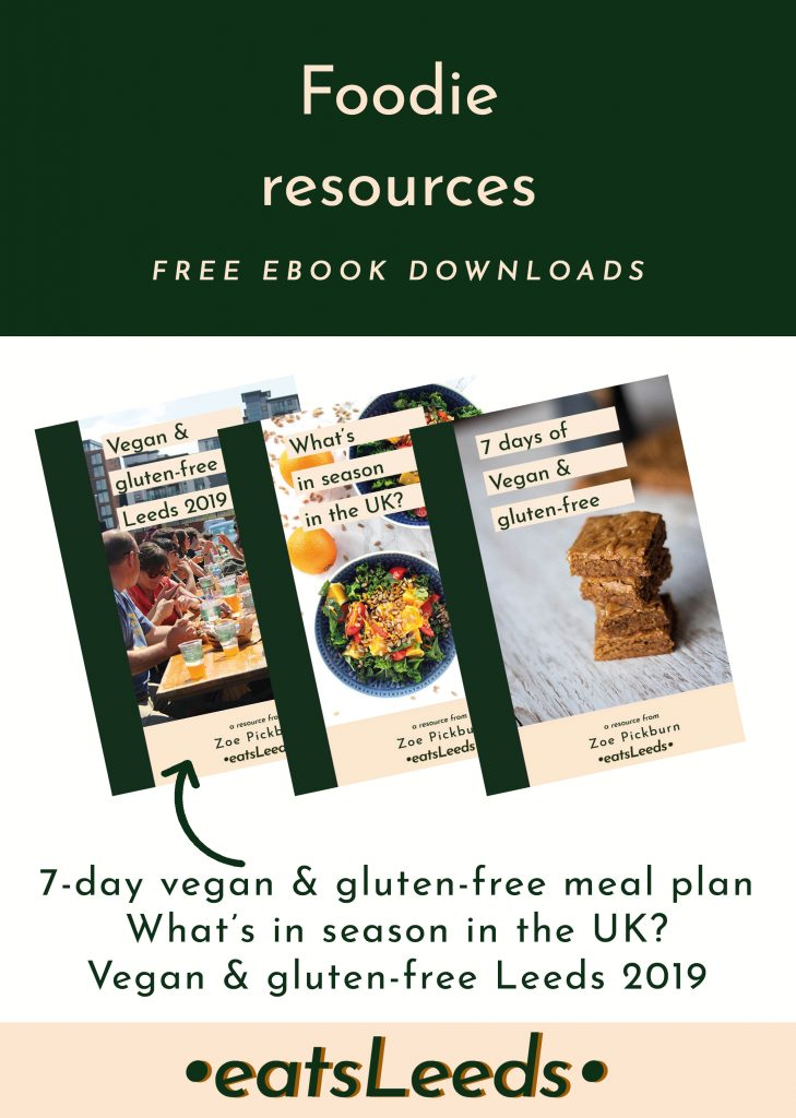 Downloadable Resources | Plant-based & gluten-free lifestyle| EatsLeeds