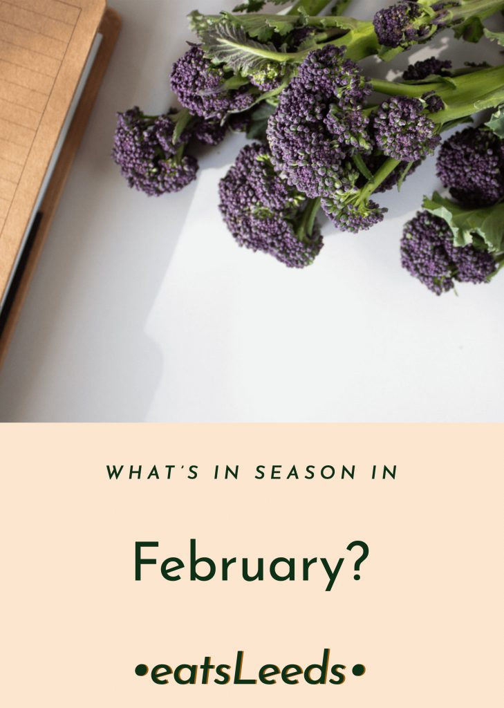 What fruits & vegetables are in season in February?