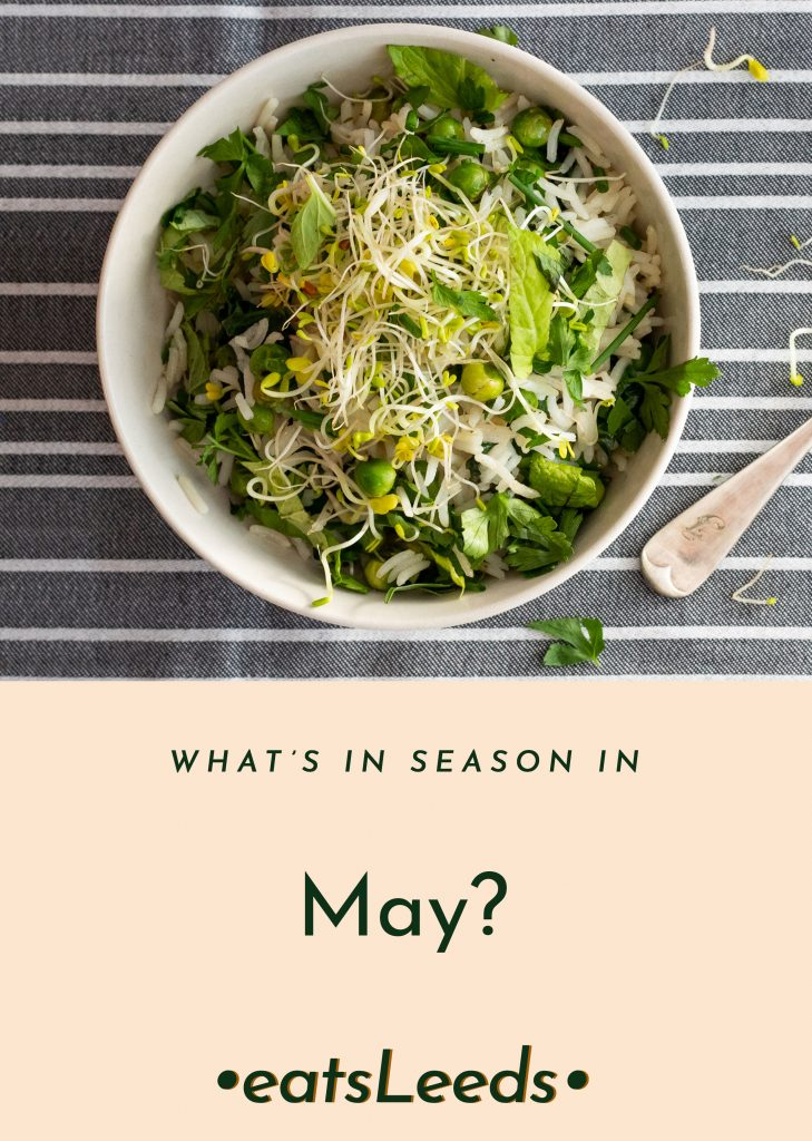 What's in season in May in the UK?