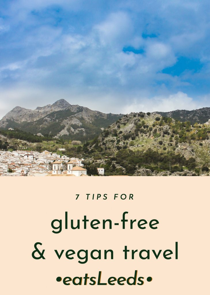 gluten-free and vegan travel holiday tips