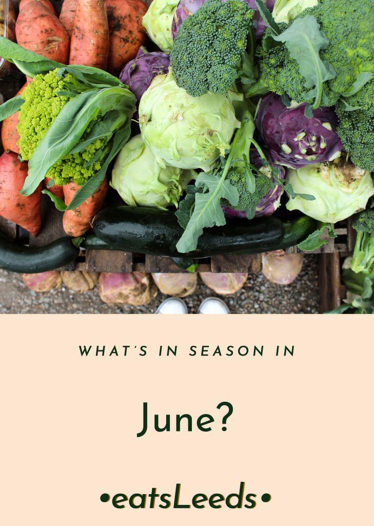 What's in season in June in the UK?