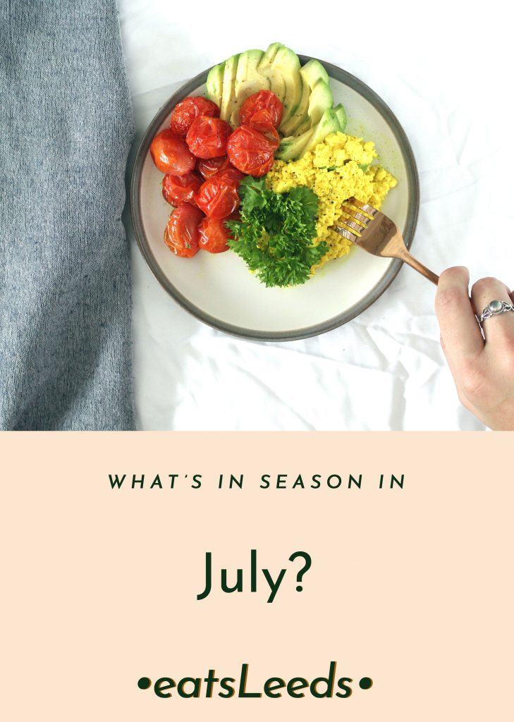 What's in season in the UK in July?