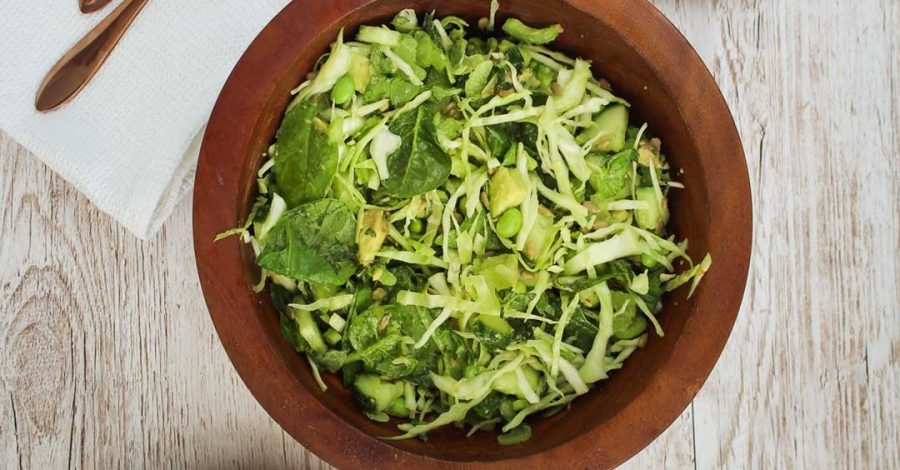 An easy green salad recipe