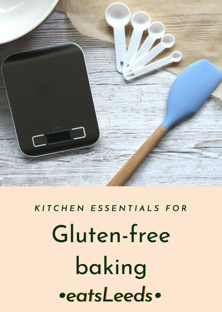 Kitchen essentials for gluten free baking