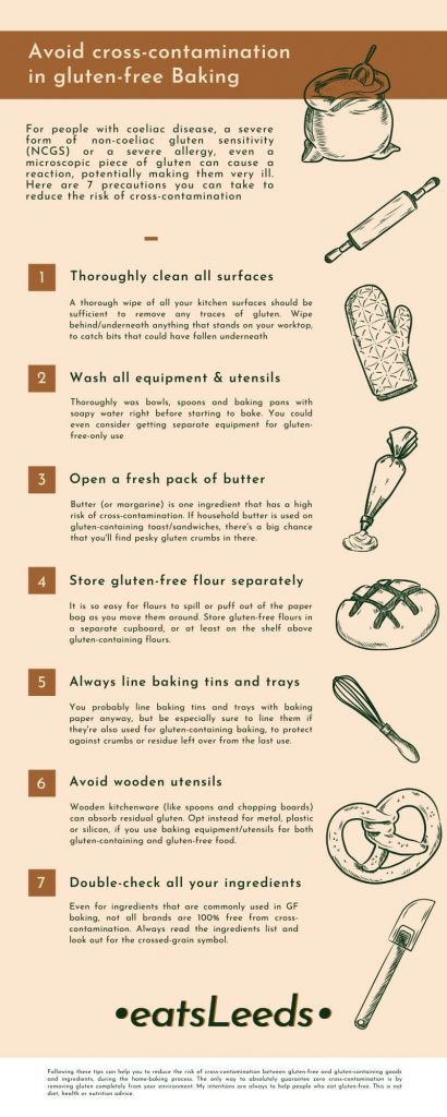 Tips for gluten-free baking